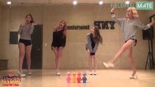 (BESTie) - THANK U VERY MUCH (Choreography Ver.) Dance Mirror