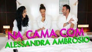 Na cama com Alessandra Ambrósio #HotelMazzafera