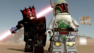 LEGO Star Wars: The Force Awakens - Jakku Hub 100% Guide - All Collectibles