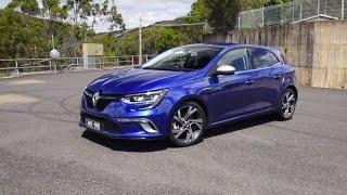 2017 Renault Megane GT 0-100km/h & engine sound