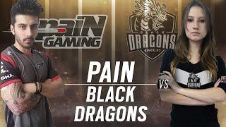[BR] paiN Gaming vs. Black Dragons | Play Day #5 | EliteSix S01 (PC)