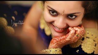 A Wonderful Kerala Hindu Wedding Video of Vijayalakshmi + Nithin by Chandra Studio