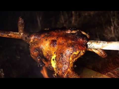 Cooking Chicken Roast In My Village - Chicken Recipes Indian Style - How To Roast Chicken on Fire