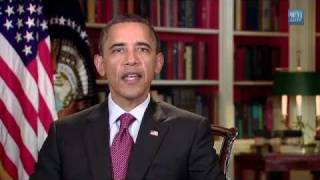 9/11 attacks to World Trade Center, Obama message to the families