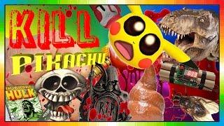 KiLL Pikachu - POKEMON GO ( Minion the POKEMON Hunter ) - FUNNY Pikachu KiLLING !!!