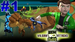 BEN 10 Alien Force Vilgax Attacks Walkthrough Part 1 Bellwood