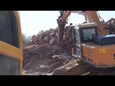 Xxx Mp4 Hydraulic Excavator With Breaker Sany Reliability 3gp Sex