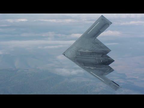 Novo Bombardeiro B-2 Stealth Air-to-Air - New B-2 Stealth Bomber Air-to-Air - Northrop Grumman