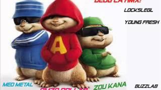 Deugg La remix by chipmunks