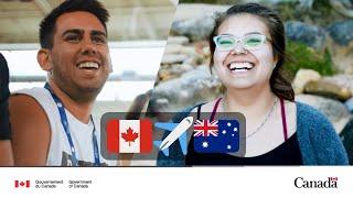 Échange  entre le Canada et l'Australie avec EIC: travailler et voyager à l'étranger