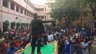 Tanmoy Saadhak & Ocb Rocking Naihati RBC Girls College 2017