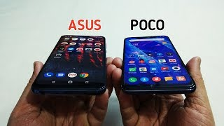 Poco F1 Vs Asus Zenfone Max Pro M2 Full Comparison - Camera,Design,Battery,Perfomance