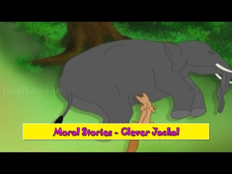 Clever Jackal | Chalak Sheyal | Gujarati Moral Stories For Kids | Gujarati Varta For Children