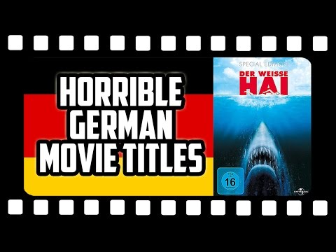 HORRIBLE GERMAN MOVIE TITLE TRANSLATIONS #4 🎬 Get Germanized