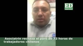 Transportistas bolivianos piden a Chile desactivar el paro de 72 horas