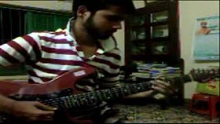 Bidhatar Lekha Theme Tune On Guitar By Aninda