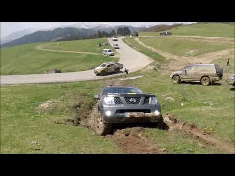 Extreme OFF ROAD Nissan Navara & Mitsubishi L200 @TÜRKİYE - Giresun