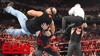 The Undertaker and Kane lay out Triple H and Shawn Michaels: Raw, Oct. 1, 2018