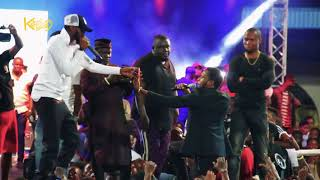 D'Banj Couldn't Hide It From Warri Fans | Signed Upcoming Artist At Harrysong Kingmaker Concert