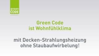 Green Code Heizdecke: Deckenheizung und Fußbodenheizung im Vergleich