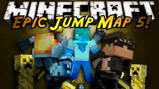 Minecraft: Epic Jump Map Butter Edition Part 1!
