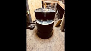 DIY Coal Or Wood Forge for Black Smithing