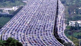 সবচেয়ে দীর্ঘ, ভয়াবহ এবং ইতিহাস-বিখ্যাত ৫টি ট্রাফিক জ্যাম !! 5 Worst Traffic Jams In History