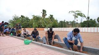 Allu Arjun Family And Baahubali Team Participate in Haritha Haram || Prabhas|| Rana