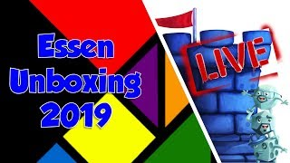 Live Essen Unboxing w/Tom, Zee and Sam!!