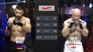 ArmFC-19.Hosein Helali vs Shota Betlemidze HD