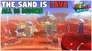 Completing Sand Kingdom Without Touching Sand (Super Mario Odyssey Challenge)