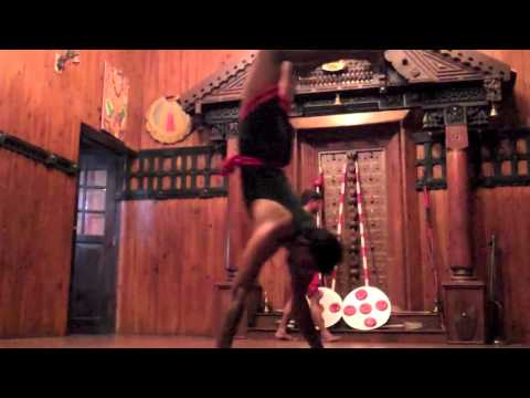 29 Kerala Kalarippaya Martial arts exhibition and Sitar Concert, India, December 2012