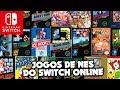 Experimentando os jogos de NES do Nintendo Switch Online