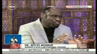 Jeff Koinange Live with Dr. Myles Monroe, American Televangelist ( Part 1 )