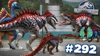 STRONGEST DINOSAURS IN THE GAME!!! || Jurassic World - The Game - Ep292 HD