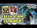 Download Video Kembalikan Burique! Mengembalikan Kejayaan Cresht! Build Super Tank! - Arena of Valor 3GP MP4 FLV