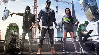 WATCH DOGS 2 - FREE ROAM, PARKOUR & DRONES! | Walkthrough Gameplay (PS4)