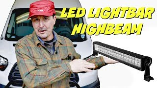 How To Connect Light Bar To High Beams