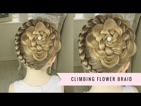 The Climbing Flower Braid by SweetHearts Hair Design