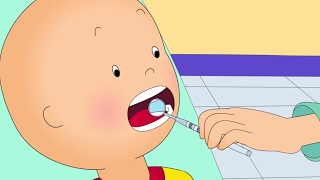 Funny Animated cartoons Kids | Caillou at the DENTIST | WATCH CARTOONS ONLINE | Cartoon for Children