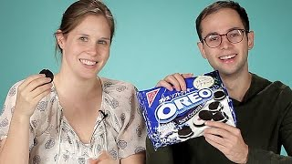 Americans Try Japanese Oreos
