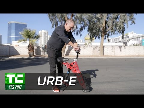 URB-E's newest foldable electric scooter