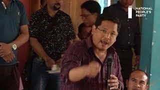 Time to decided Ampati: Conrad K. Sangma