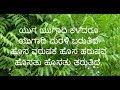 Yuga yugadi kaledaru, yugadi marali barutide..../ ಯುಗ ಯುಗಾದಿ ಕಳೆದರೂ ಯುಗಾದಿ ಮರಳಿ ಬರುತಿದೆ
