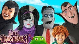 Hotel Transylvania 3 Halloween Costumes Toys and Makeup