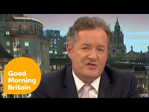 Susanna and Piers Debate Meryl Streep s Attack on Donald Trump Good Morning Britain