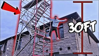 WE BUILT A GIANT $5,000 METAL TOWER IN MY BACKYARD!! *THE NEIGHBORS ARE PISSED*