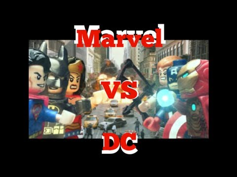 Lego Marvel Vs DC Superheroes
