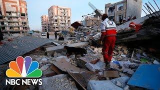 A Massive Earthquake Has Killed Hundreds In Iraq And Iran   NBC News