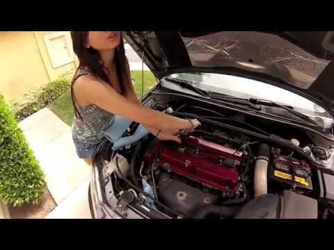 How To Change Spark Plugs on Evo